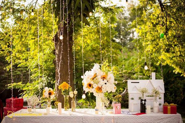 Kinh nghiệm tổ chức tiệc cưới sân vườn hoàn hảo