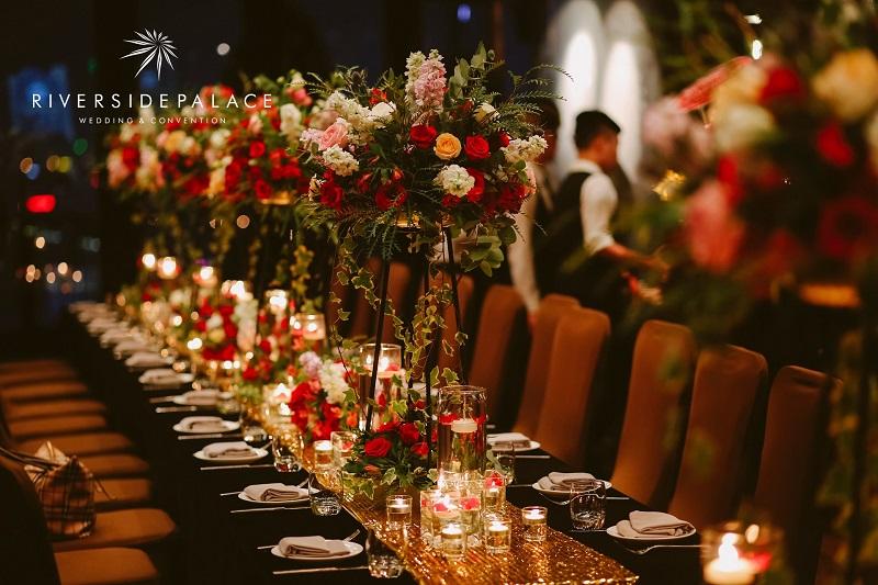 5 tiêu chí làm nên thực đơn tiệc cưới cao cấp và sang trọng
