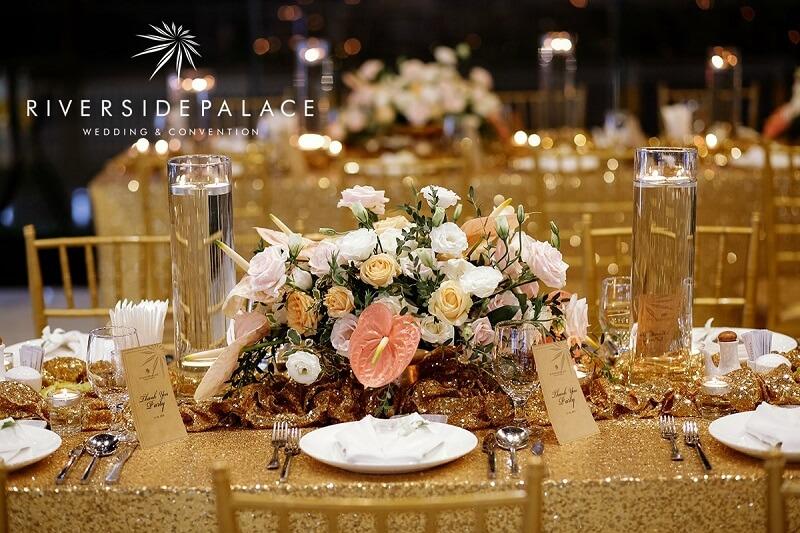 Chọn thực đơn tiệc cưới đặc sắc nhất tại nhà hàng Riverside Palace