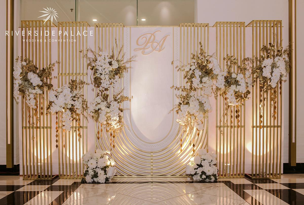 Xu hướng trang trí Backdrop cho tiệc cưới năm 2020
