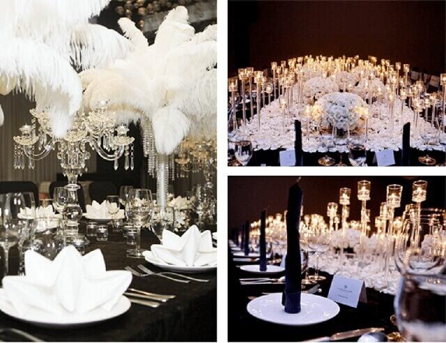 Chọn gam màu chủ đạo nào cho tiệc cưới mùa đông?
