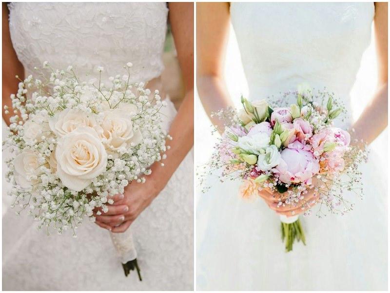 Kết quả hình ảnh cho bó hoa cưới nhẹ nhàng